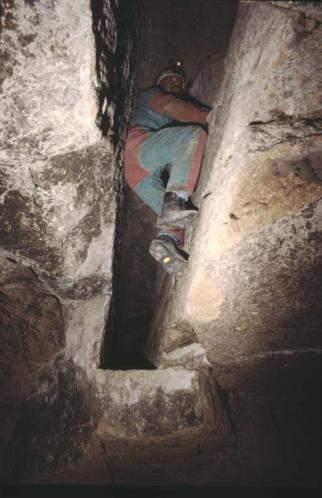 Roma. Valle della Caffarella: le cave ed i sistemi idraulici.