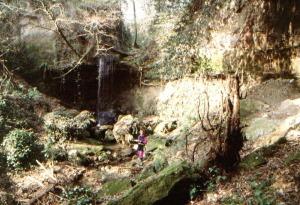 Roma. A Crustumerium il ratto delle sabine e l'acquedotto riscoperto. Rome. At Crustumerium the kidnapping of Sabine women and the rediscovered acqueduct.