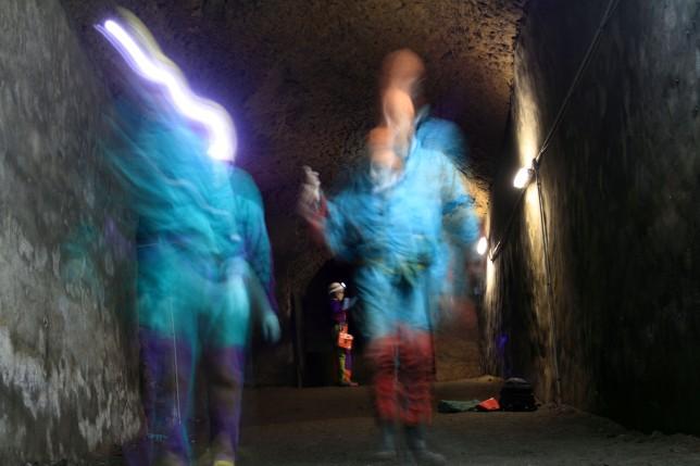 Le grotte Caetani foto A. De Paolis copyright Egeria CRS