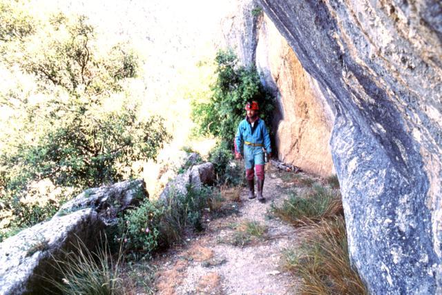 Acquedotto Le Vuccole di Raiano. Foto Archivio CRS Egeria anno 2003.