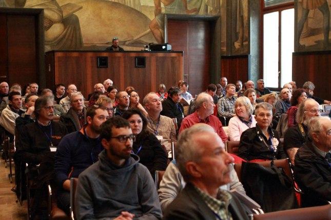 Sessioni congressuali presso la Sala Marconi del CNR. Foto Antonio De Paolis (Archivio Egeria CRS).
