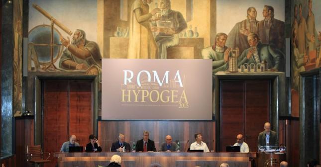 Apertura congresso Hypogea2015. Foto Antonio De Paolis (Archivio Egeria CRS).