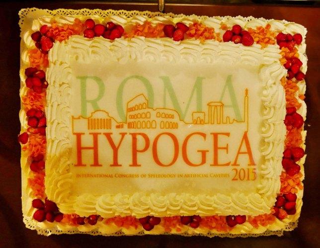 La torta di festeggiamento. Foto Boaz Zissu, per gentile concessione.